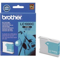 Brother LC1000C (Cyan / Žydra) rašalinė kasetė, 400 psl.