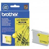 Brother LC1000Y (Yellow / Geltona) rašalinė kasetė, 400 psl.