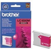 Brother LC1000M (Magenta / Purpurinė) rašalinė kasetė, 400 psl.