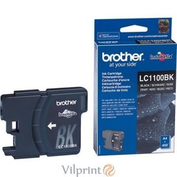 Brother LC1100BK (Black / Juoda) rašalinė kasetė, 450 psl.