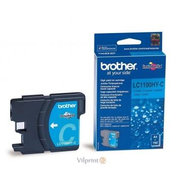 Brother LC1100HY-C (Cyan / Žydra) rašalinė kasetė, 750 psl.