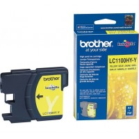 Brother LC1100HY-Y (Yellow / Geltona) rašalinė kasetė, 750 psl.