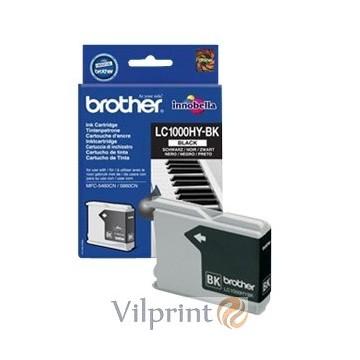 Brother LC1000HY-BK (Black / Juoda) rašalinė kasetė, 900 psl.