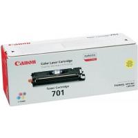 Canon 701 (Yellow / Geltona) tonerio kasetė, 4000 psl.
