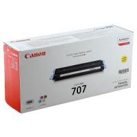 Canon 707 (Yellow / Geltona) tonerio kasetė, 2000 psl.