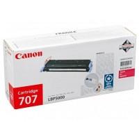 Canon 707 (Magenta / Purpurinė) tonerio kasetė, 2000 psl.