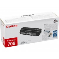 Canon 708 (Black / Juoda) tonerio kasetė, 2500 psl.