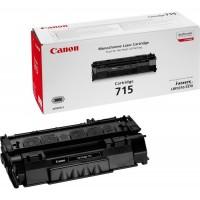 Canon 715 (Black / Juoda) tonerio kasetė, 3000 psl.