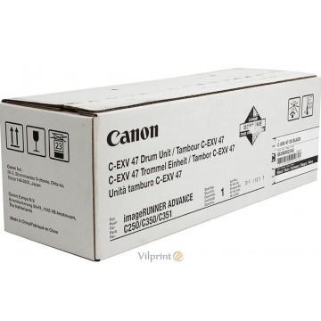 Canon C-EXV47 (Black / Juodas) drum / būgno mazgas, 39000 psl.