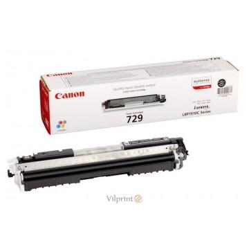 Canon 729 (Black / Juoda) tonerio kasetė, 1000 psl.