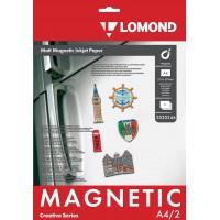 """Lomond A4, 2 lapai, """"Magnetic"""" matinis fotopopierius su magnetiniu sluoksniu (Magnetic Inkjet Paper Matt / kodas: 2020346)"""