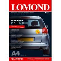 """Lomond A3, 2 lapai, """"Magnetic"""" blizgus fotopopierius su magnetiniu sluoksniu (Magnetic Inkjet Paper Glossy / kodas: 2020347)"""
