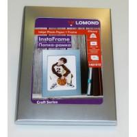 Lomond A6, sidabrinis stovas-remelis + A6, 200g/m2, 15 lapų, vienpusis blizgus fotopopierius (kodas: 1401010)