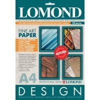 """Lomond A4, 200-230g/m2, 13 lapų, """"Fine-Art Design"""" grupės fotopopieriaus pavyzdžiai (Fine Art Design Paper Promo Pack / kodas: 0103006)"""