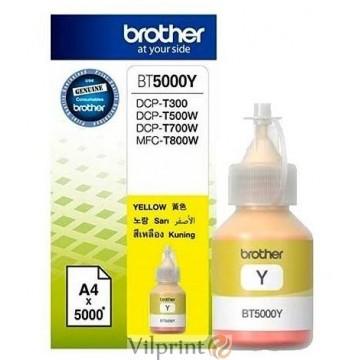 Brother BT5000Y (Yellow / Geltonas) rašalo buteliukas, 5000 psl.