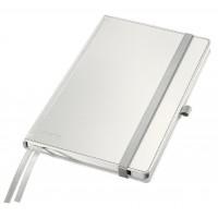 Užrašų knygelė A5/80l. su langeliais, balta, Leitz Style Notebook