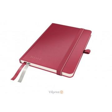 Užrašų knygelė A6/80l. su linijomis, raudona, Leitz Complete Notebook