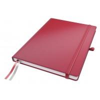 Užrašų knygelė A4/80l. su linijomis, raudona, Leitz Complete Notebook