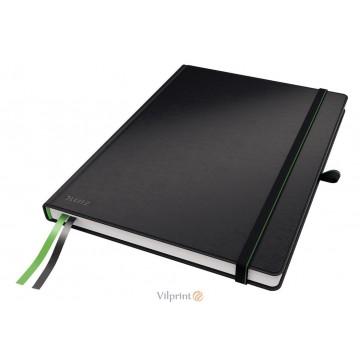 Užrašų knygelė A4/80l. su langeliais, juoda, Leitz Complete Notebook