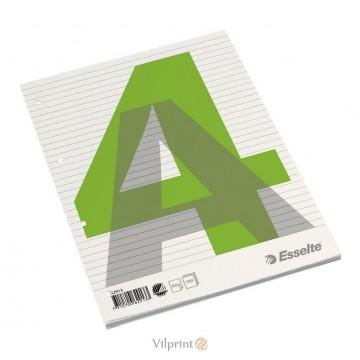 Bloknotas A4/100l. klijuotas, su linijomis, Esselte Glued Pad