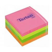 Lipnūs lapeliai 76x76, 4 spalvų Neon 400l. Tartan