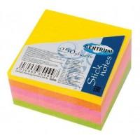 Lipnūs lapeliai 51x51, 5 spalvų Neon 250l. Centrum
