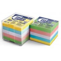 Lapeliai užrašams 90x90, dėžutėje, 5 spalvų 800l. Forpus