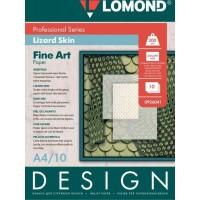 Lomond A4, 200g/m2, 10 lapų, Design Lizard vienpusis, blizgus tekstūrinis fotopopierius raš. sp. (Lizard Glossy / 0926041)