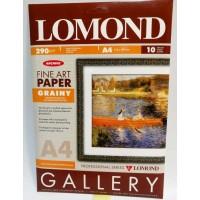 Lomond A4, 290 g/m2, 10 lapų, Coarse-Grainy Natural White Archive, vienpusis grūdėtos tekstūros fotopopierius raš. sp. (0912341)
