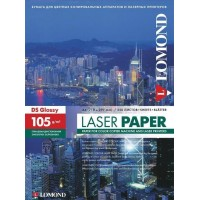 Lomond A4, 105g/m2, 250 lapų, dvipusis blizgus spec. popierius lazeriniams spausdintuvams (CLC Paper Glossy DS / 0310641)
