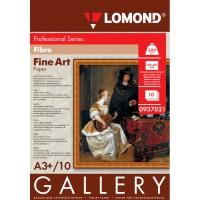 Lomond A3+, 300g/m2, 10 lapų, vienpusis blizgus tekstūrinis fotopopierius (Fine Art Gallery Fibre Glossy Inkjet Premium Photopaper / kodas: 0937021)