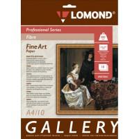 Lomond A4, 300g/m2, 10 lapų, vienpusis tekstūrinis fotopopierius (Fine Art Gallery Fibre Glossy Inkjet Premium Photopaper / kodas: 0937041)