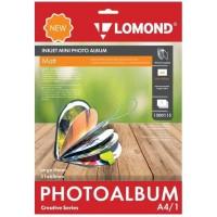 Lomond mini fotoalbumas širdelės formos (didelis) , (Lomond Inkjet Mini Photo Album, Big Heart  / kodas: 1500115)