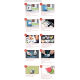 Lomond mini fotoalbumas knygos formos (mažas) , (Lomond Inkjet Mini Photo Album, Little Square  / kodas: 1500116)