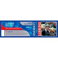"Lomond 914mm x 30m, 200g/m2, ""Premium"" ruloninis itin blizgus fotopopierius (XL Premium Photo Paper Super Glossy / kodas 1201022)"