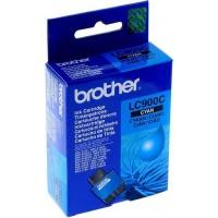 Brother LC-900C (Cyan / Žydra) rašalinė kasetė, 400 psl.