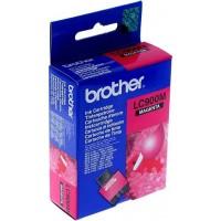Brother LC-900M (Purpurinė / Magenta) rašalinė kasetė, 400 psl.