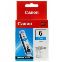 Canon BCI-6C (Cyan / Žydra) rašalinė kasetė, 270 psl.